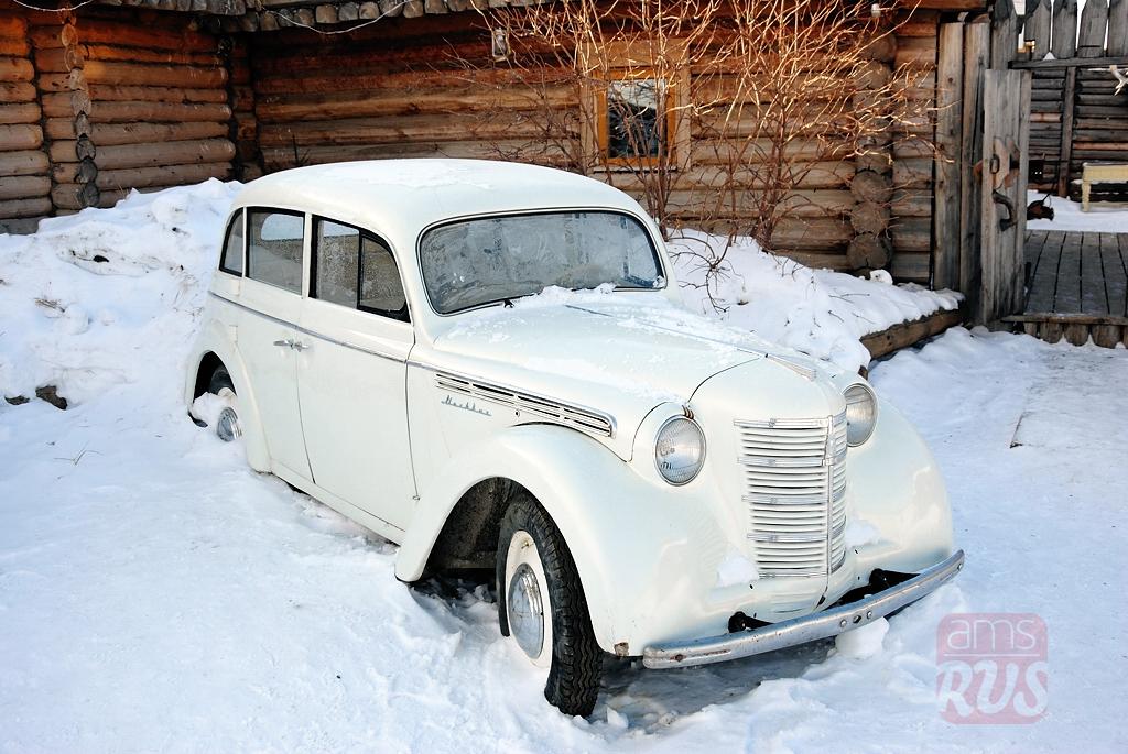 Москвич 401 попал в Якутию