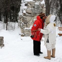 обряд у настоящего шамана