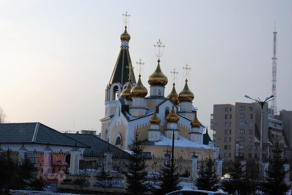 Преображенская церковь Якутск