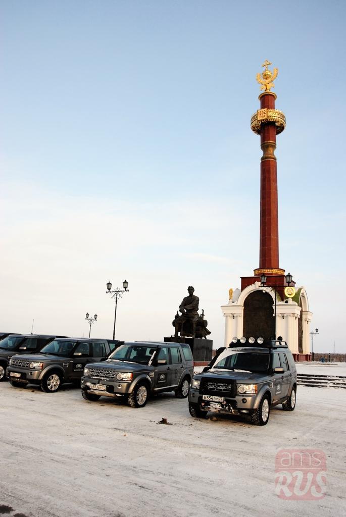 Памятник основателю Якутска Петру Ивановичу Бекетову