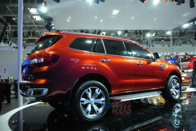 Ford Everest Concept Пекин 2014