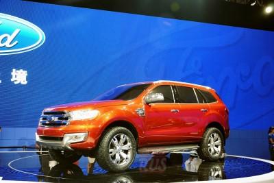 Ford Everest Concept Пекин 2014