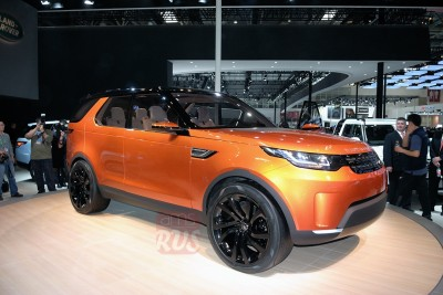 Land Rover Discovery 5 Пекин 2014