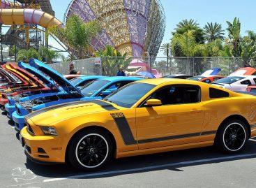 На Fabulous Fords Forever отметили юбилей Ford Mustang – 50 лет