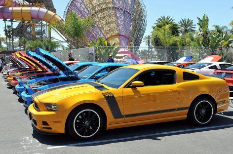 На Fabulous Fords Forever отметили юбилей Ford Mustang — 50 лет