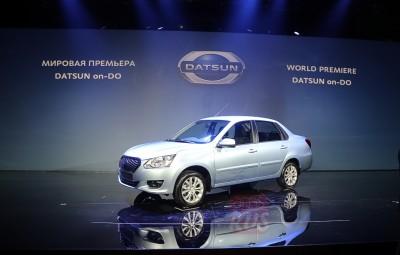 Русский Datsun on-DO во всей красе