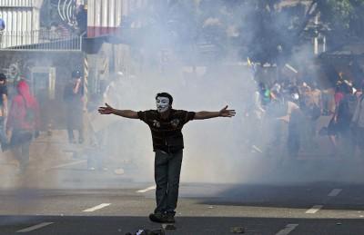 Каракас протесты