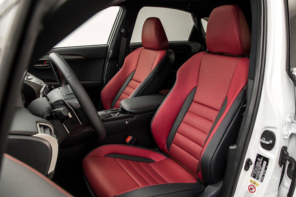 Lexus nx for Lexus is350 f sport red interior