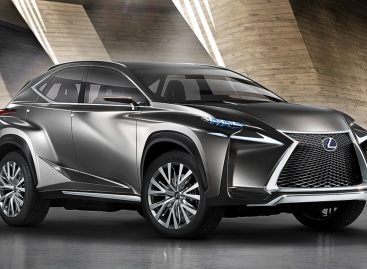 Lexus представляет новый компактный кроссовер