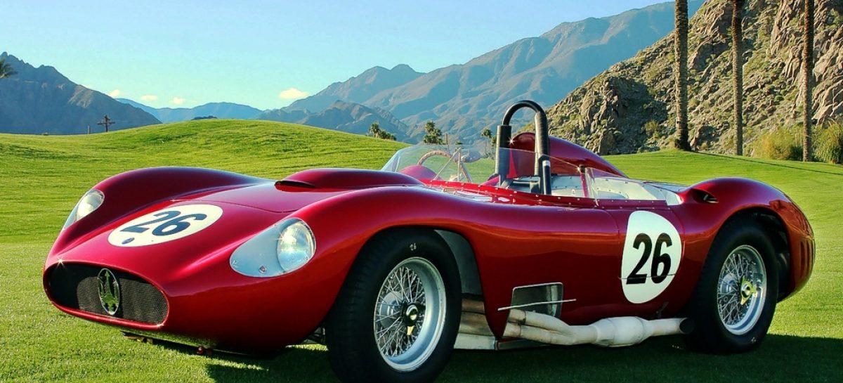 Maserati 450S Стирлинга Мосса выставляется на аукцион в Монако