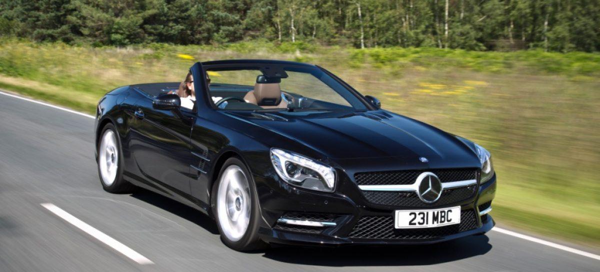 Встречайте: новый Mercedes-Benz SL 400