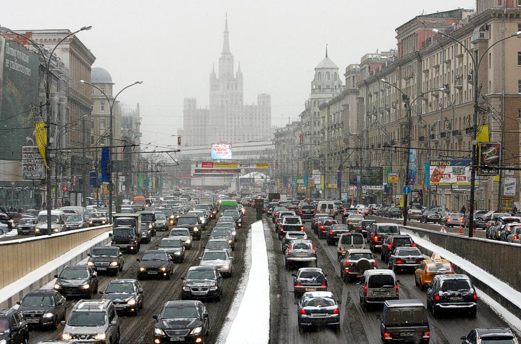 Московский траффик