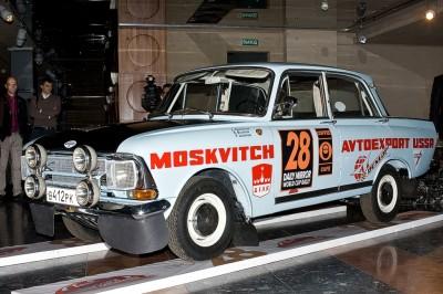 Москвич восстановленный Бушуевым и Пикуленко