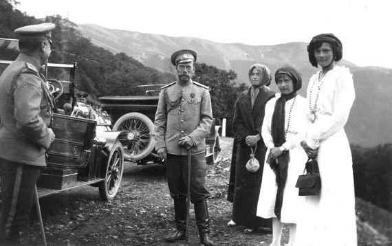 Николай II и автомобили