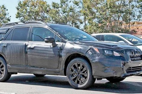 Новый Subaru Outback будет представлен на Нью-Йоркском автосалоне