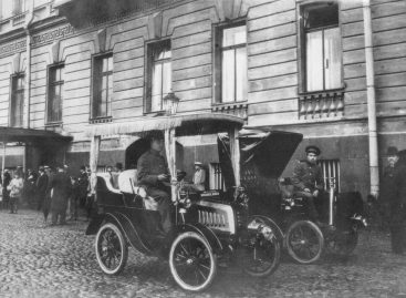 Телефоны в местах стоянки такси — 1913 год
