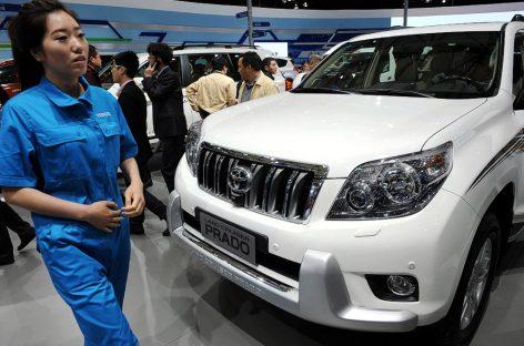 Toyota расширяет свое присутствие в Китае