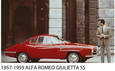 Bertone | 1957-1959 Alfa Romeo Giulietta SS
