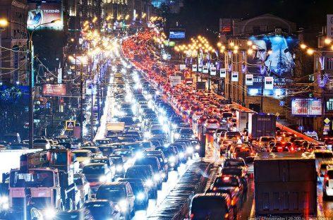 Многострадальным московским автомобилистам посвящается