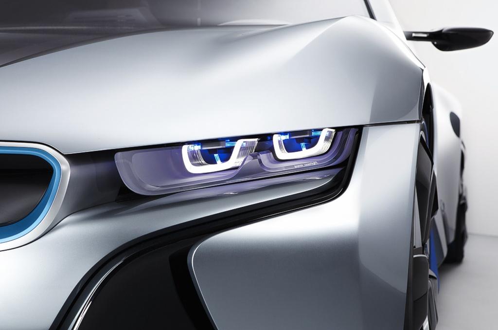 BMW фары лазерная оптика