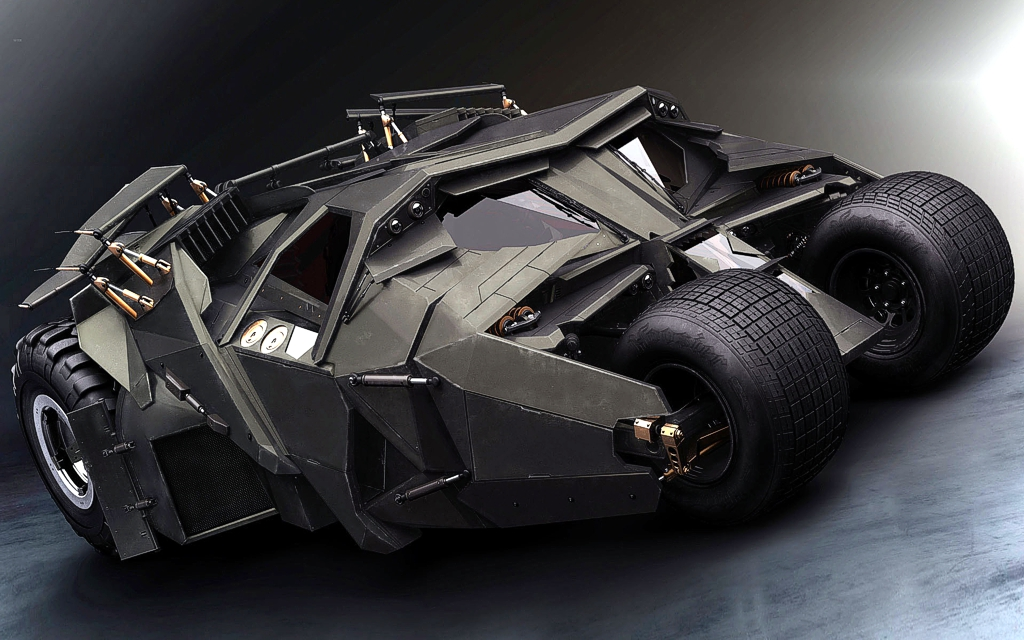 Batmobile Tumbler