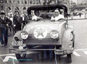 11555 км задним ходом – 1930 год