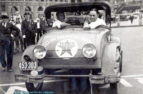 11555 км задним ходом — 1930 год