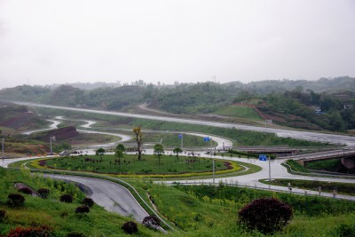 Changan полигон | пятикилометровое скоростное кольцо | торированные подъемы | спецдороги