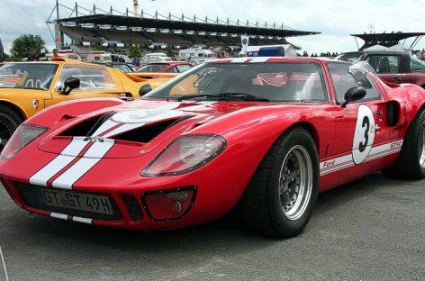 На аукцион выставлен редчайший родстер – прототип Ford GT40