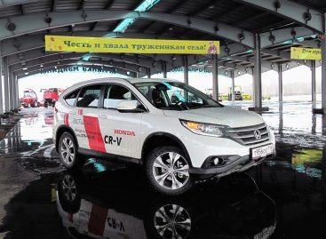 В двух словах: Honda CR-V 2.4