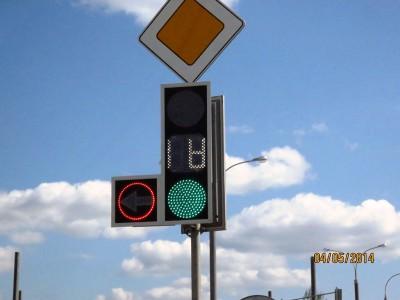 Светофоры в Белоруссии плоские