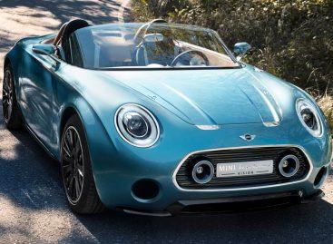 MINI представила концепт купе концепцию MINI Superleggera Vision