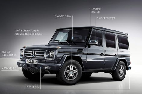 Mercedes-Benz полностью обновит Гелендваген