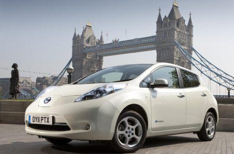 Новый Nissan Leaf получит систему беспилотного вождения