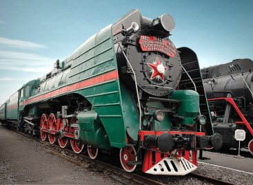 Последний паровоз – 1956
