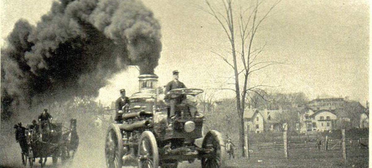 Разрешение на паромобиль — 1872 год