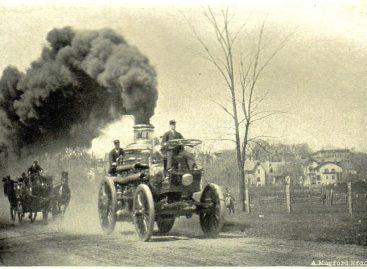Разрешение на паромобиль – 1872 год