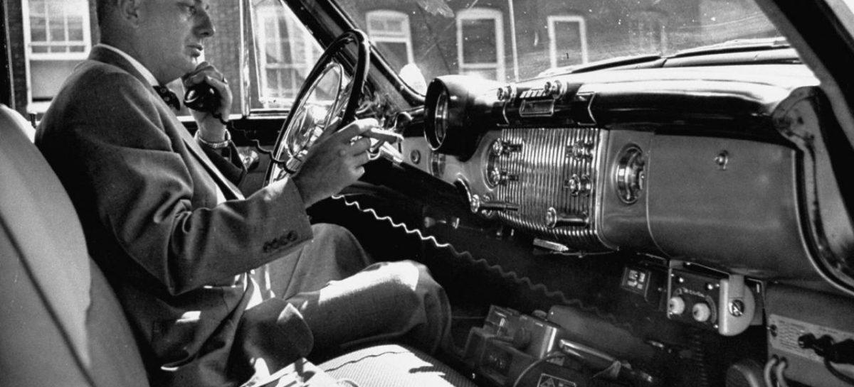 Беспроводной телефон в авто – 1948 год