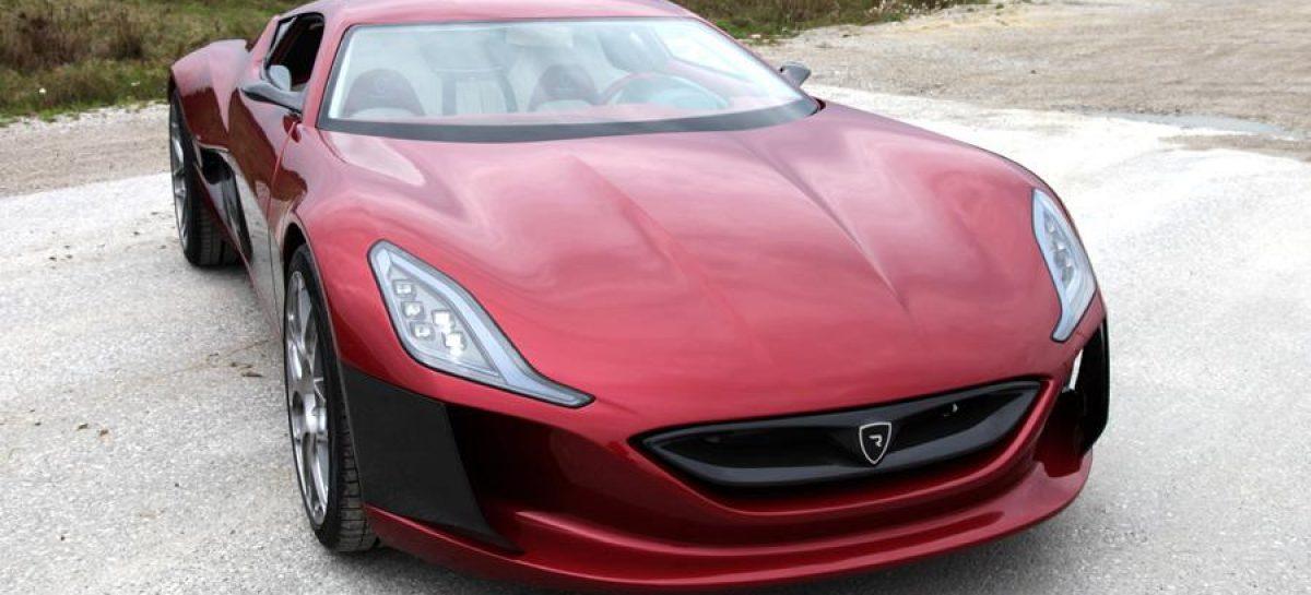1088-сильный электрический Rimac Concept One все-таки поступит в производство