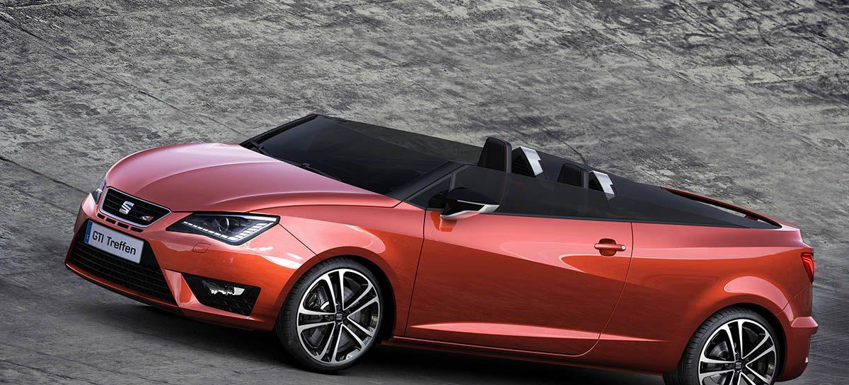 Новый концепт SEAT родстер Ibiza Cupster