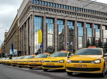 В Москве автомобили для такси начали переводить на газ