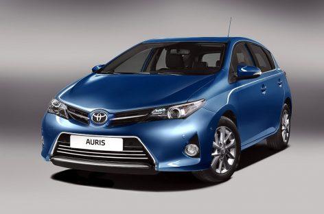 Toyota отзовет в России пять автомобилей Auris