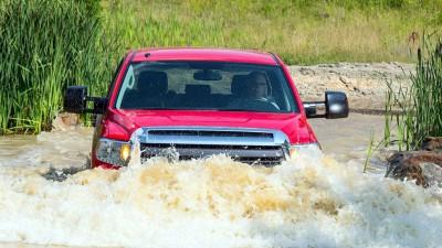 Toyota Tundra бездорожье