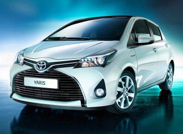 Появилась обновленная Toyota Yaris