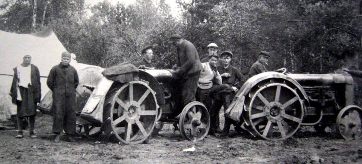 Перепись автомобилей, мотоциклов и тракторов страны — 1918 год