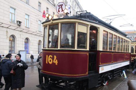 Трамвай вытащил «ГАЗель»