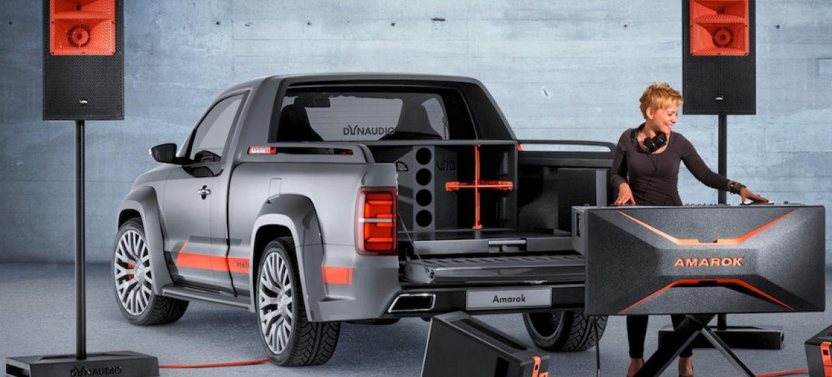 Volkswagen Amarok Power — модная передвижная DJ станция