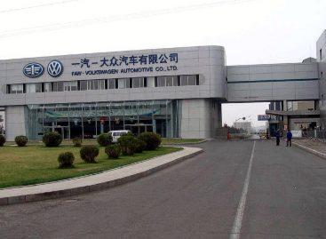 Volkswagen на 30% из Китая