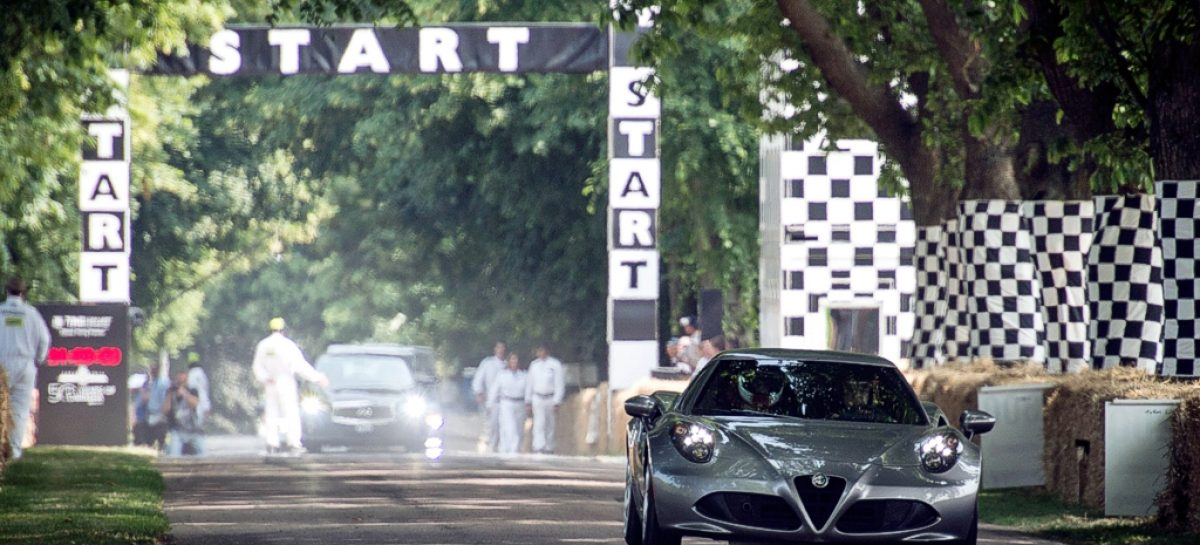 Фестиваль Goodwood Festival of Speed-2014: машины, люди, события