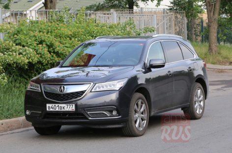 Acura MDX: история появления в России и тест-драйв